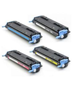 Pack 4 toner alternativo con HP Q6000A/Q6001A/Q6002A/Q6003A