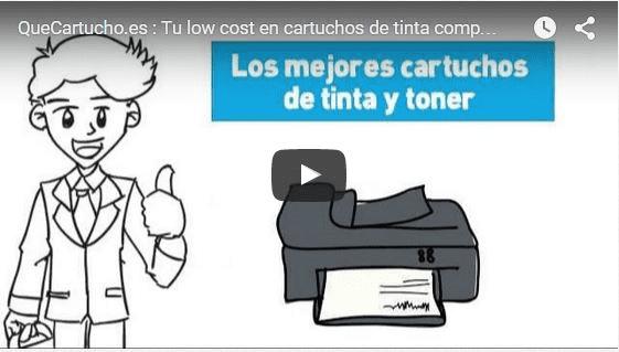 Video de presentación de quecartucho, en el explicamos como podemos ser tan baratos sin perder calidad