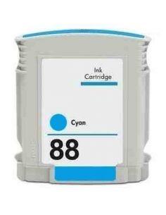 Cartucho de tinta HP88XLC, compatible con hp C9391AE,  cyan
