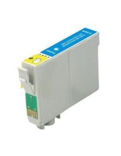 Cartucho de tinta T0712, compatible con epson, cyan