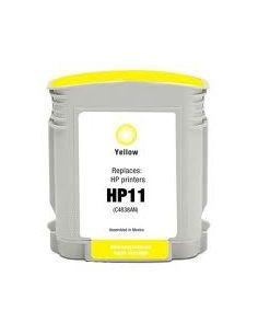 Cartucho de tinta HP11,compatible con hp C4838AE, amarillo