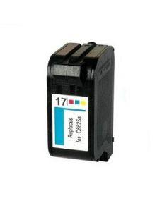 Cartucho de tinta HP17,compatible con hp C6625AE, tricolor