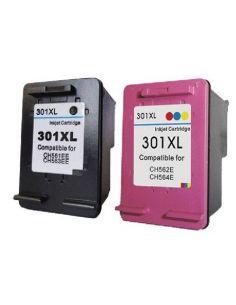 Pack de cartuchos de tinta compatibles HP301XL y HP301XL