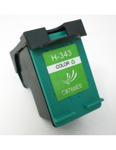 Cartucho de tinta HP343, compatible con hp C8766EE,  tricolor