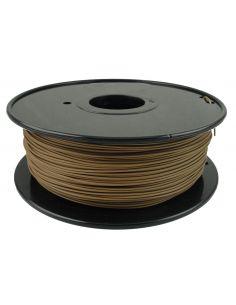 Bobina Filamento ABS madera para impresora 3D 1.75 mm 1KG