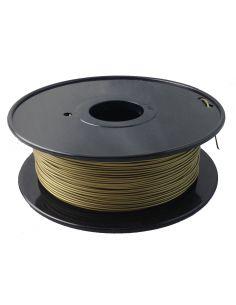 Bobina Filamento PLA Bronce para impresora 3D 1.75 mm 250gr.