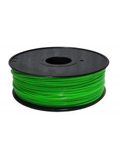 Bobina Filamento ABS Fluorescente VERDE para impresora 3D 1.75 mm 1KG
