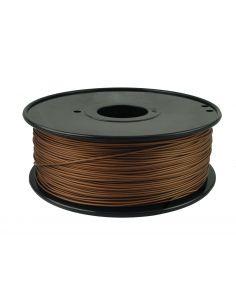 Bobina Filamento PLA Cobre para impresora 3D 1.75 mm 250gr.