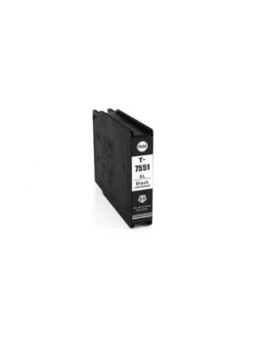 Cartucho de tinta T7551 / T7552 / T7553 / T7554 XL compatible a
