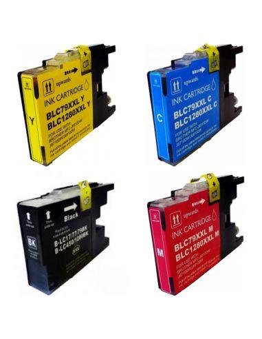 Cartucho de tinta LC1280XL / LC-1280XL, compatible con brother