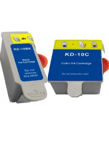 Cartucho de tinta Kodak 10 / KD10XL compatible 3949914 / 3949930