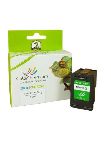 Cartucho de tinta HP301XL / HP301 XL compatible con hp CH563EE