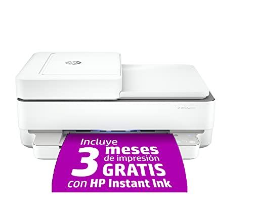 HP Envy 6420 - Impresora multifunción tinta, color, Wi-Fi, Bluetooth 5.0,...