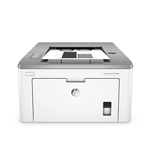 HP LaserJet Pro M118dw - Impresora láser monocromo, Wi-Fi, Ethernet...