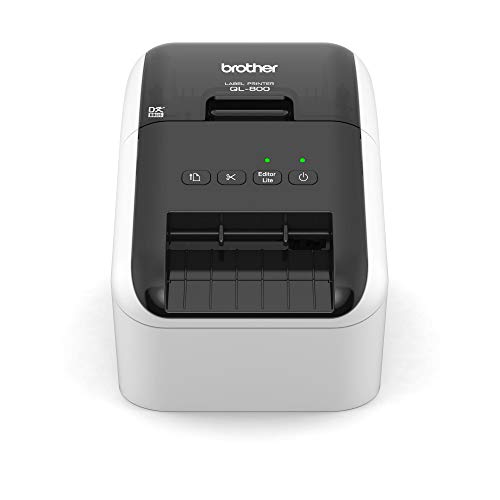 Brother QL-800 - Impresora de Etiquetas (USB 2.0, Cortador automático,...