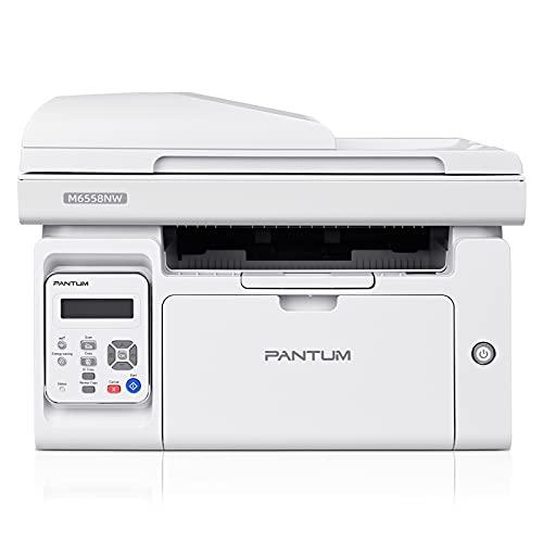 Impresora láser monocromo inalámbrica multifunción para copiar, imprimir...