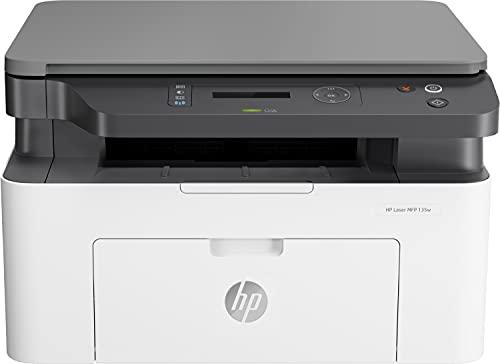 HP Laser MFP 137fnw 4ZB84A, Impresora Láser Multifunción Monocromo,...