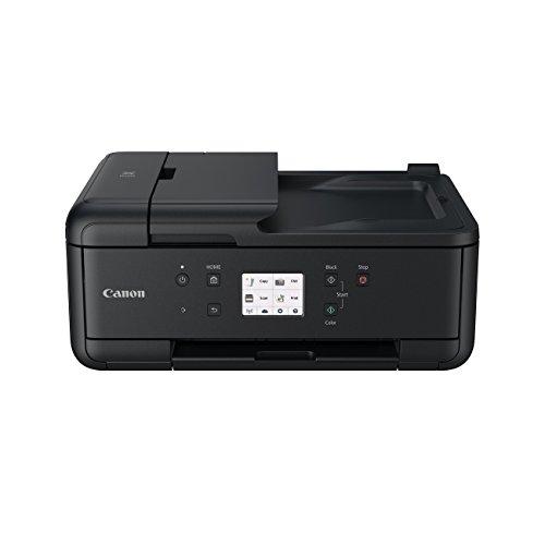 Impresora Multifuncional Canon PIXMA TR7550 Negra...