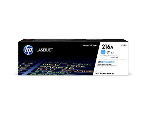 HP 216A W2411A, Cian, Cartucho Tóner Original, de 850 páginas, para...