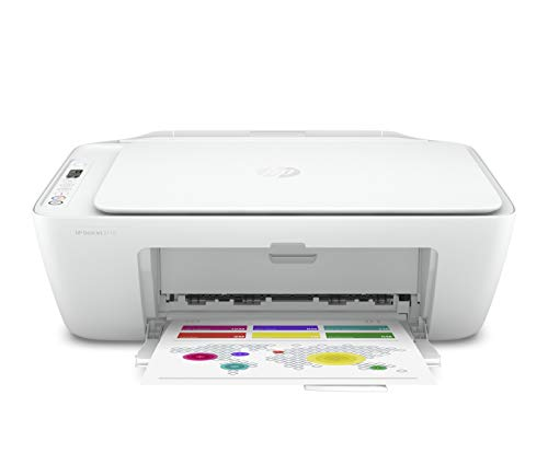 HP DeskJet 2710 - Impresora multifunción (7.5 ppm, A4, WiFi, escanea y Copia),...