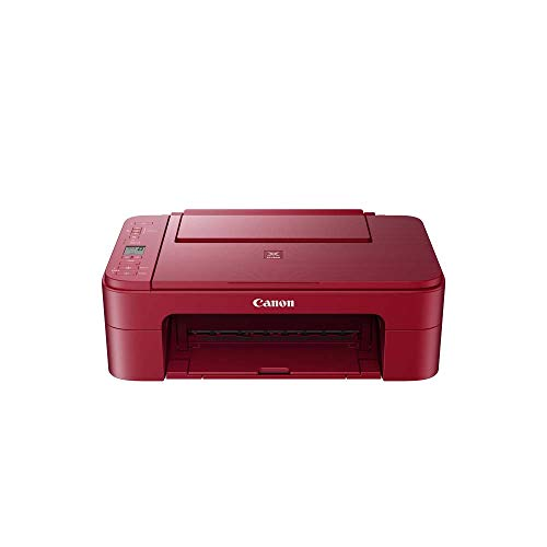 Impresora Multifuncional Canon PIXMA TS3352 Roja Wifi de inyección de...