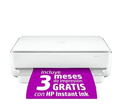 HP Envy 6020 - Impresora multifunción tinta, color, Wi-Fi, Bluetooth 5.0,...