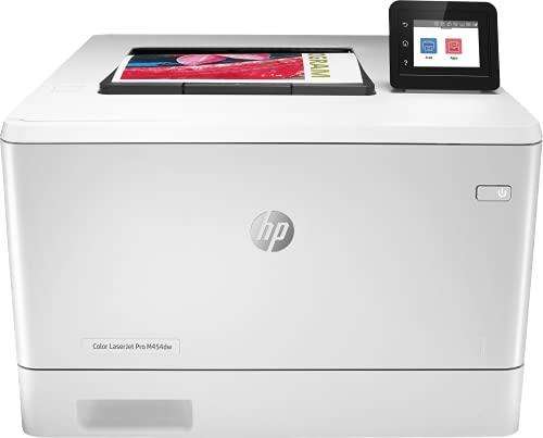 HP Color LaserJet Pro M454dw W1Y45A, Impresora Láser Color Monofunción,...
