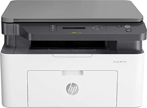 HP Laser MFP 135w - Impresora láser multifunción, monocromo, Wi-Fi, USB...