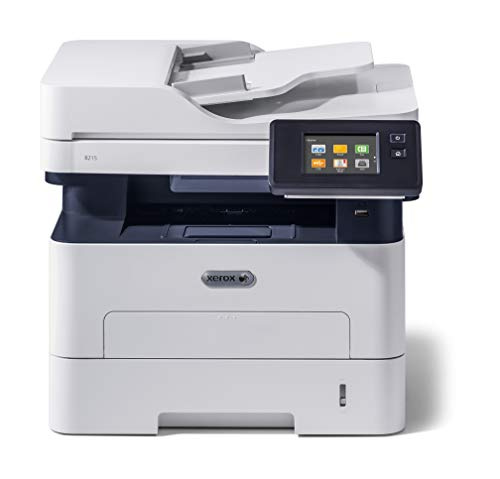 Xerox B215V_DNI S/W- láser Scanner copiadora Fax LAN WiFi, Gris, 36.2 x...