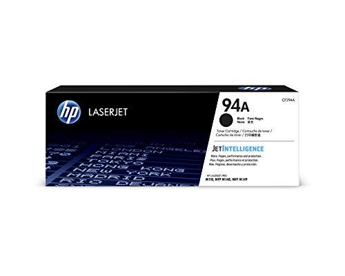 HP 94A CF294A, Negro, Cartucho Tóner Original, de 1.200 páginas, para...