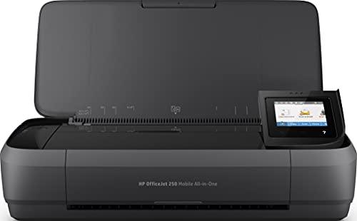 HP OfficeJet 250 Mobile AiO - Impresora multifunción tinta, color, Wi-Fi...