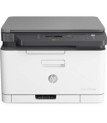 HP Color Laser MFP 178nw - Impresora láser multifunción, color, Wi-Fi,...