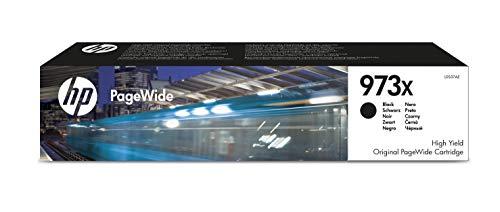 HP 973X L0S07AE, Negro, Cartucho de Tinta de Alta Capacidad PageWide...