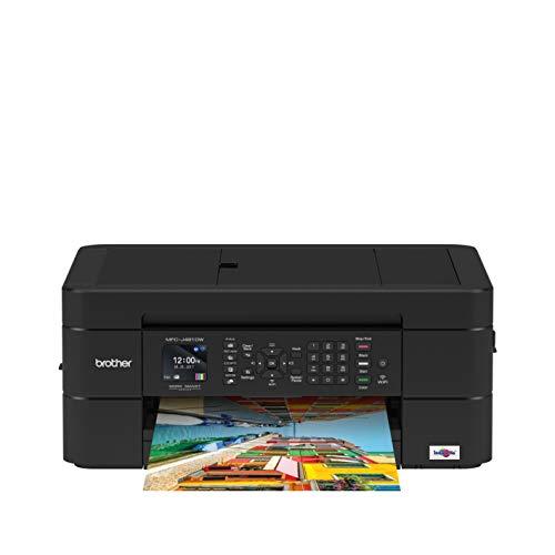 Brother Impresora multifunción 3 en 1 de inyección de Tinta Negro DCP-J491DW