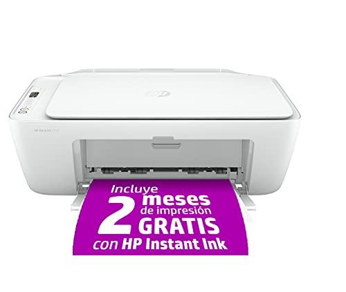 HP DeskJet 2720 - Impresora multifunción, Wi-Fi, Bluetooth, copia,...