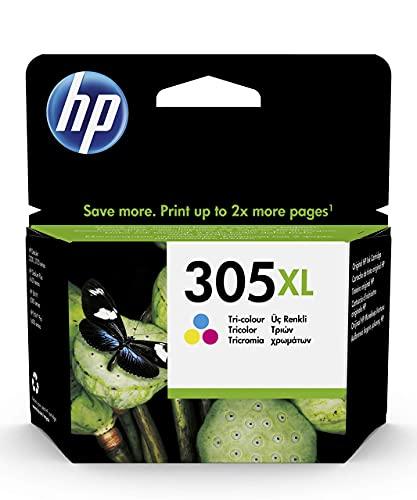 HP 305XL 3YM63AE, Tricolor, Cartucho de Tinta de Alta Capacidad Original,...