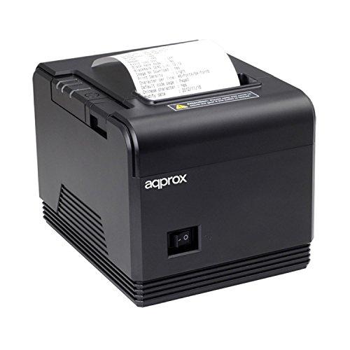 Approx APPPOS80AM - Impresora Térmica de Tickets, 200 mm/s, Papel 80 mm,...