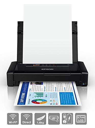Epson Workforce WF-110W - Impresora de inyección de Tinta portátil (DIN...