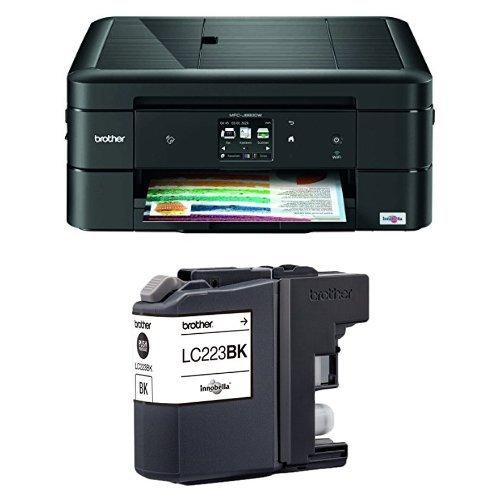 Brother MFCJ880DW - Impresora multifunción de tinta + Cartucho XL negro