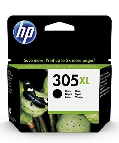 HP 305XL 3YM62AE, Negro, Cartucho de Tinta de Alta Capacidad Original,...