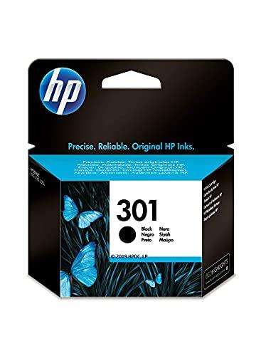 HP 301 CH561EE, Cartucho Original de Tinta Negro , compatible con...