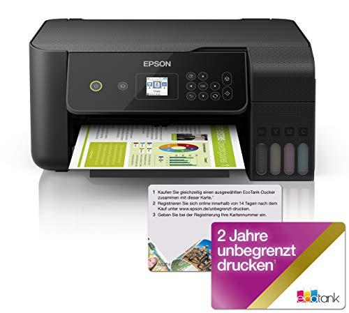 Epson EcoTank ET-2720 - Impresora multifunción 3 en 1 (Impresora,...