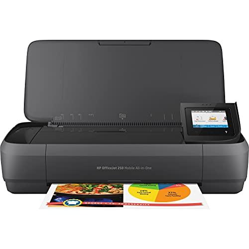 HP OfficeJet 250 Mobile AiO Inyección de tinta térmica A4 Wifi Negro -...