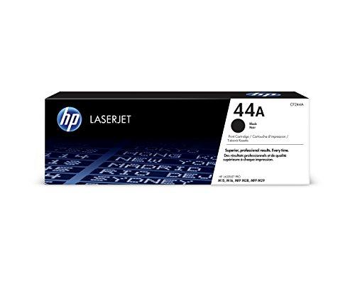 HP 44A CF244A, Negro, Cartucho Tóner Original, de 1.000 páginas, para...