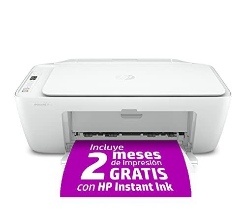 HP DeskJet 2710 - Impresora multifunción (7.5 ppm, A4, WiFi, escanea y...