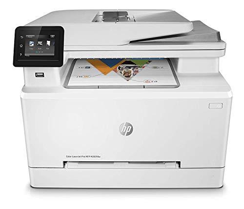 HP Color LaserJet Pro MFP M283fdw - Impresora láser multifunción, color,...