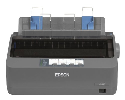 Epson LQ-350 - Impresora matricial (24 Pines, USB 2.0, 200-240 V), Color...