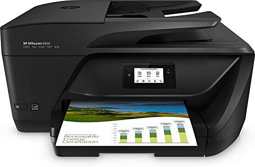 HP OfficeJet Pro 6950 - Impresora Multifunción (Tinta Color, Fax, Copiar,...