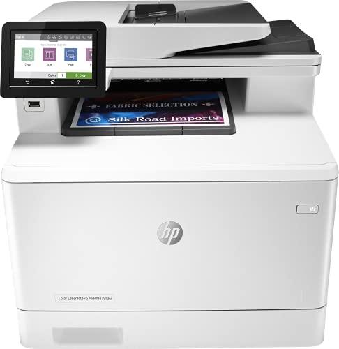 HP Color LaserJet Pro M479fdw W1A80A, Impresora Láser Color Multifunción,...