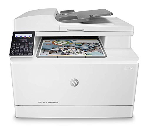 HP Color LaserJet Pro MFP M183fw - Impresora láser multifunción, color,...